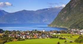 Noorwegen Vik