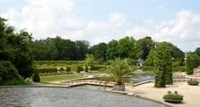 Nederland kasteel Arcen tuin