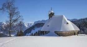 Oostenrijk Bödele kapel