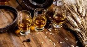 Schotland whisky glazen scaled